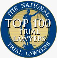 The National Trial Lawyers Top 100 Trial Lawyers seal